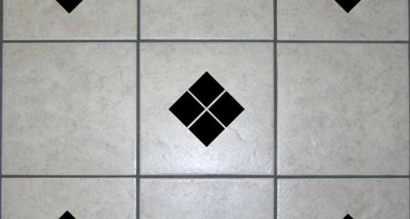 Diamond Square Tile Transfers Bathroom Stickers Decals