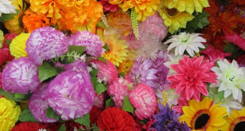 Different Types Artificial Flowers