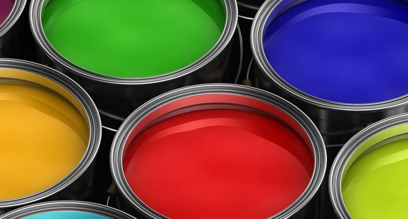 Different Types Paint