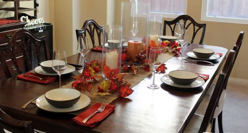 Dining Table Decorations Ideas