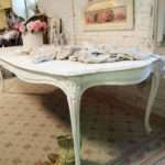 Dining Table White Shabby Chic