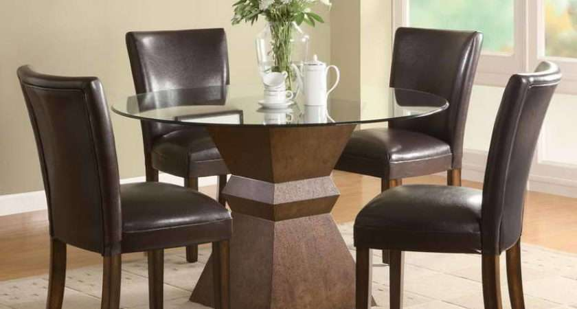 Dining Tables Small Spaces Furniture Tall Kitchen Table
