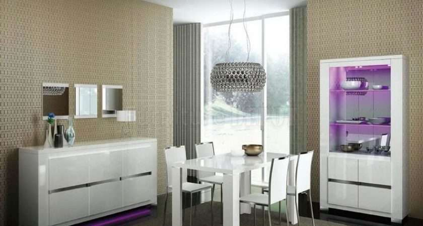 Dining Tables Small Spaces White Modern