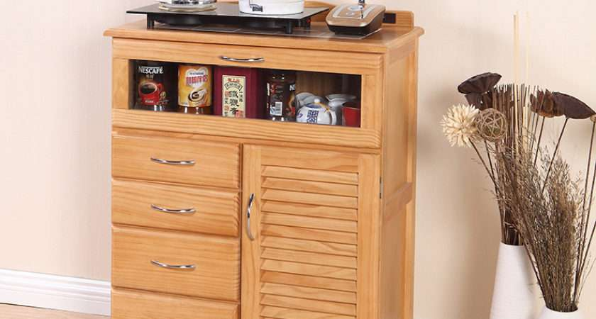 Direct Japanese Cabinet Office Cupboard Lockers Simple Wood Sideboard