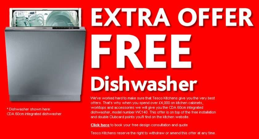 Dishwasher Tesco Direct Promotion