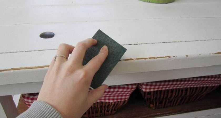 Distressing Shabby Chic Furniture Pinterest Painted