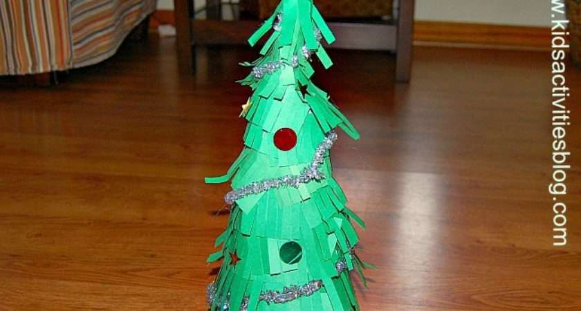 Diy Christmas Decorations Make Paper Trees