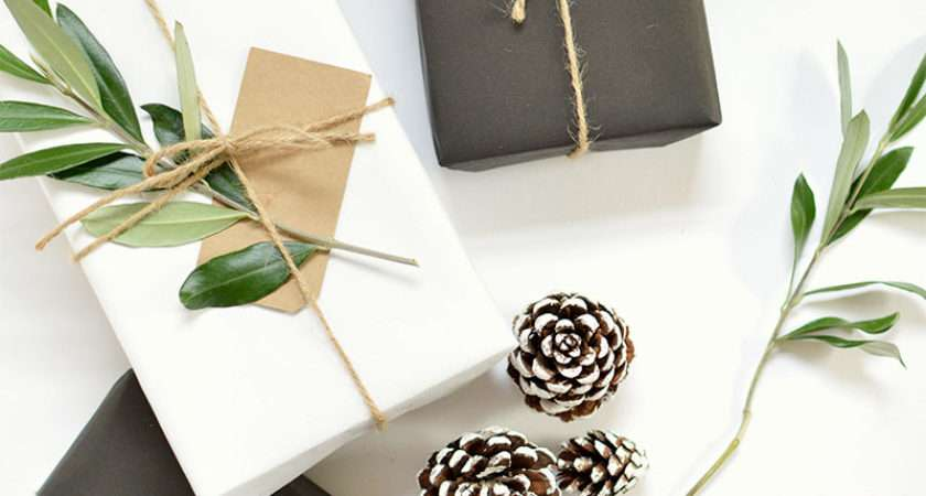 Diy Gift Wrap Ideas Christmas Burkatron