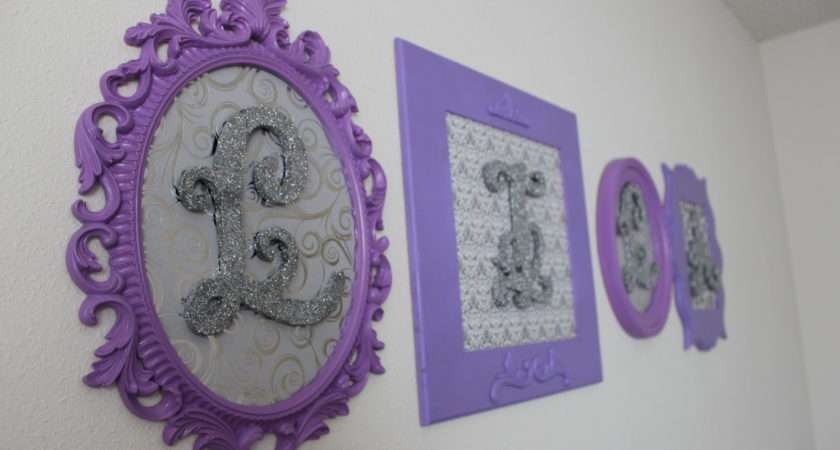 Diy Glitter Letters Frames Dirty Dishes Baby Kisses
