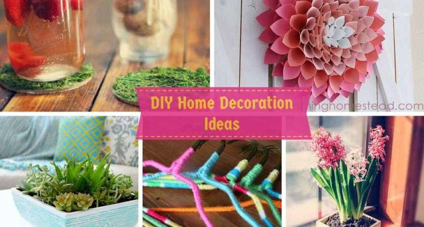 Diy Home Decoration Ideas Your Budget Its Easy
