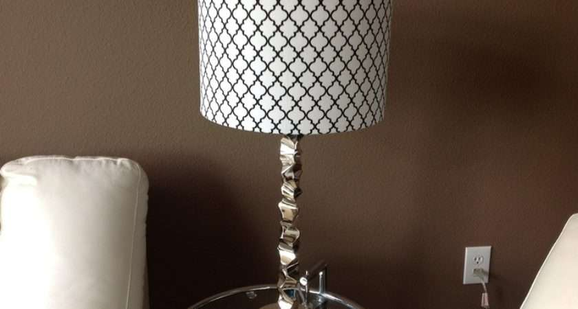 Diy Lampshade Cover Potential Bedroom Schemes Pinterest