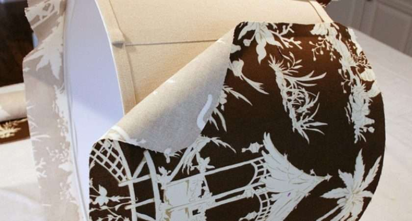 Diy Lampshades Fabric Covered