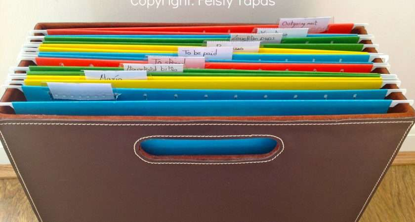 Diy Mail Paperwork Organiser Create Your Own Station