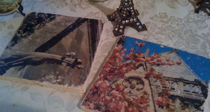 Diy Transfers Marble Tile Canvas