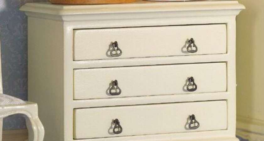 Dolls House Emporium French Style Cream Chest Drawers