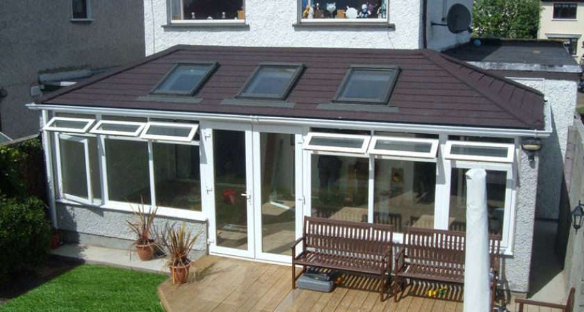 Double Hipped Guardian Tiled Roof Conservatories