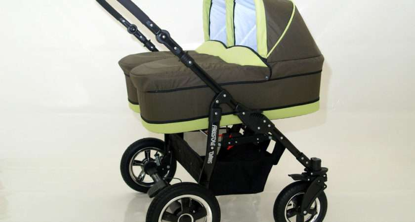 Double Twin Pram Pushchair Unit Cary Cots All Accessories