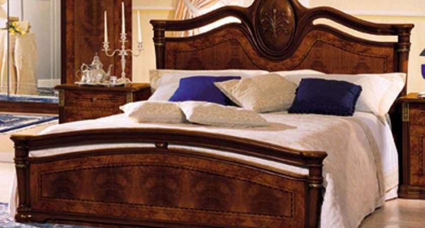 Double Wooden Beds Material Wood Design Bed Perfect