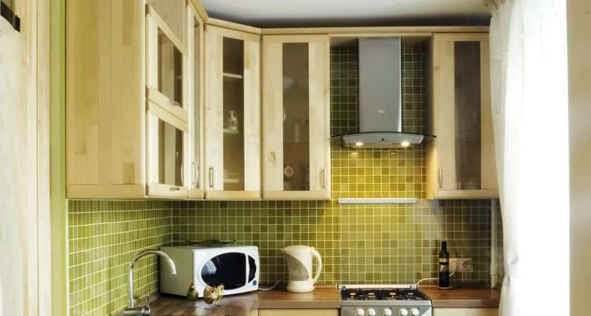 Downsized Appliances Light Wood Cabinetry Large Open