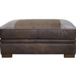 Downton Leather Footstool Part Our Heritage Collection