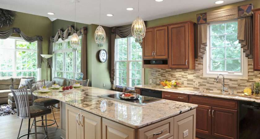 Dramatic Kitchen Home Touches