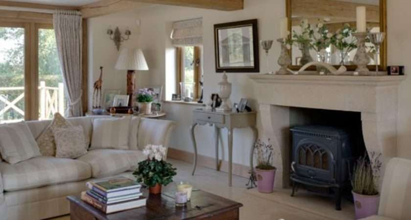 Drawing Room Inspired Rustic New Build House