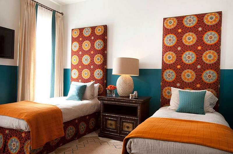 Dreamy Moroccan Bedrooms Blend Rich Color Contemporary