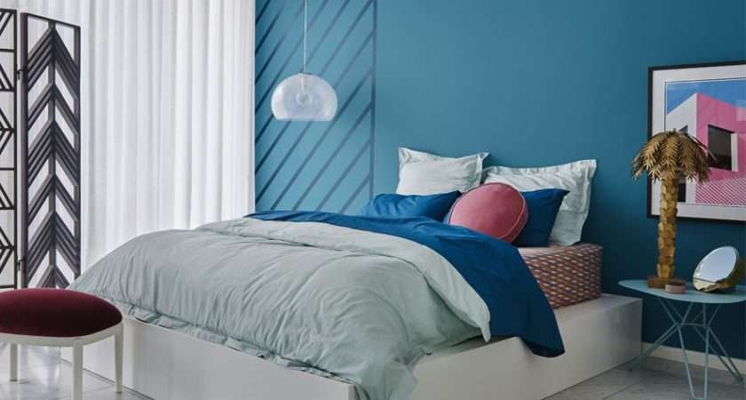 Dulux Colour Forecast Escapade Bedroom Blue