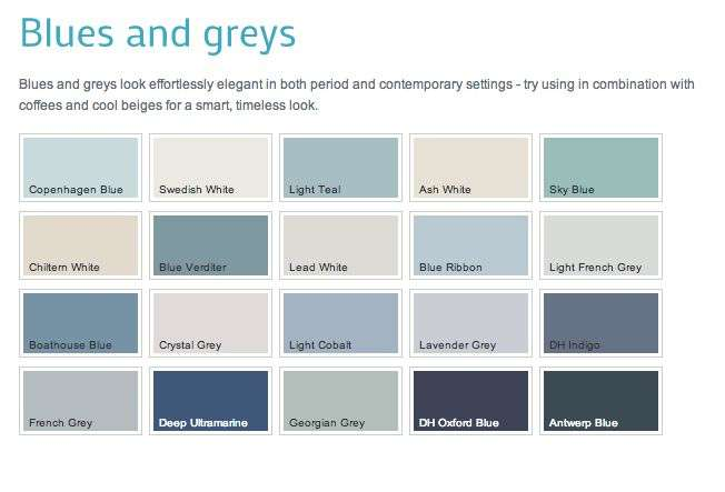 Dulux Heritage Colours Georgian Colour Grey Color