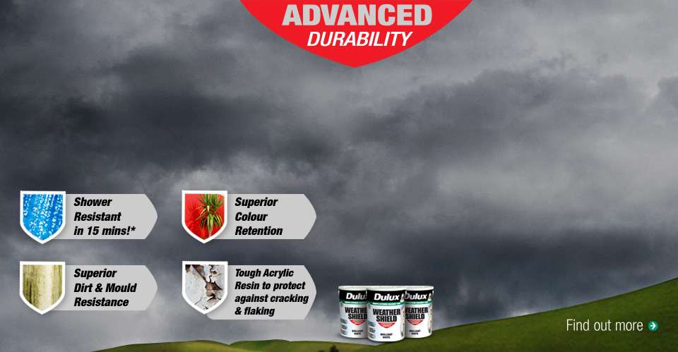 Dulux Weathershield Smooth Exterior Masonry Paint