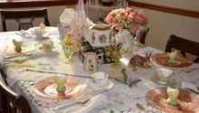 Easter Decorating Ideas Table Setting Colour Story