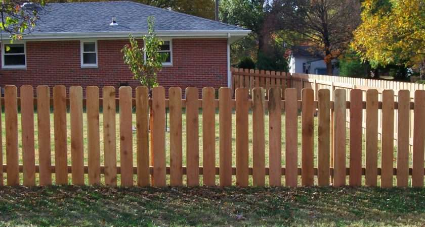 Eastern White Cedar Fence Wood Toppers Boad Edging Styles