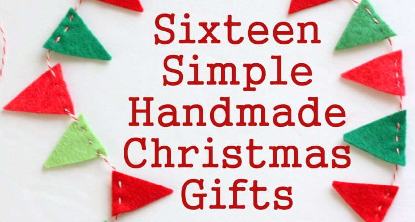 Easy Christmas Craft Gifts Ideas