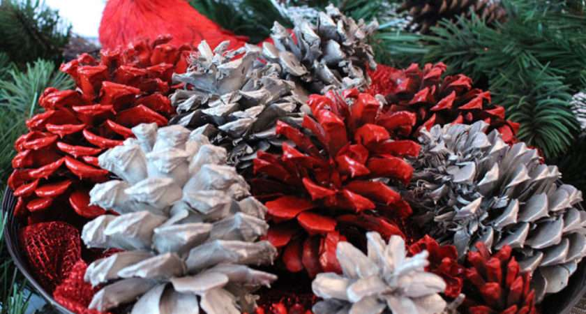 Easy Christmas Craft Ideas Pine Cone Crafts All Things