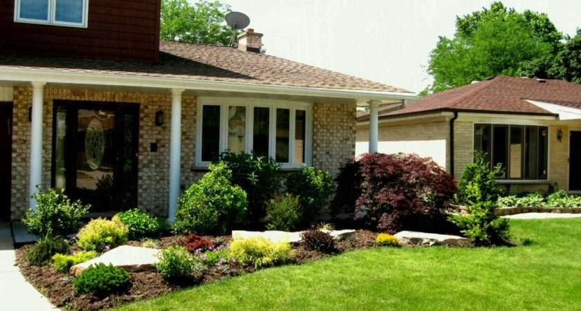 Easy Landscaping Ideas Front House Unique Tips Yard