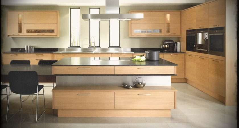 Easy Modern Kitchen Ideas White Wood Cabinets