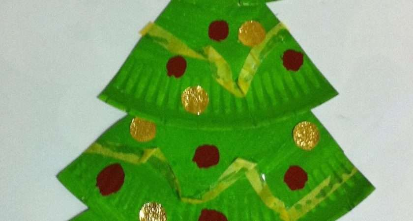 Easy Paper Christmas Crafts Kids Craft Ideas