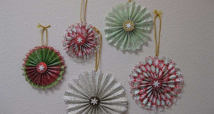 Easy Paper Christmas Ornaments Can Make Home
