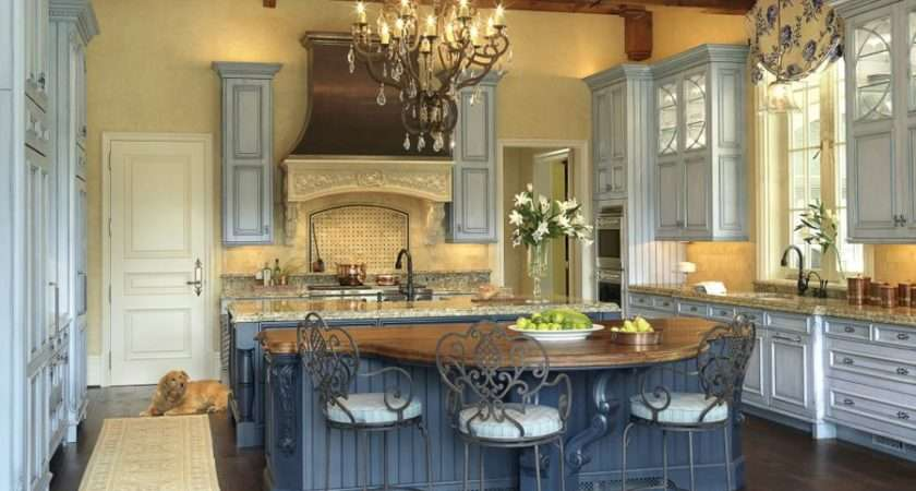 Easy Steps Build French Country Kitchen Modern Kitchens