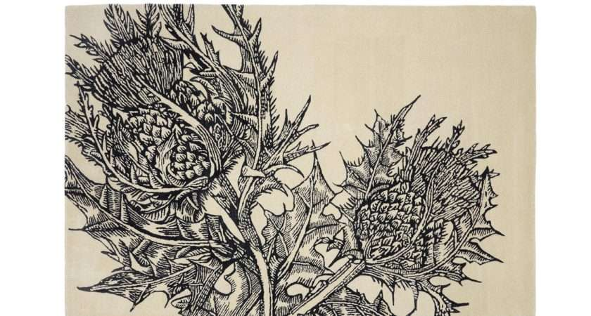 Editions Christopher Farr Thistle Rug Cream