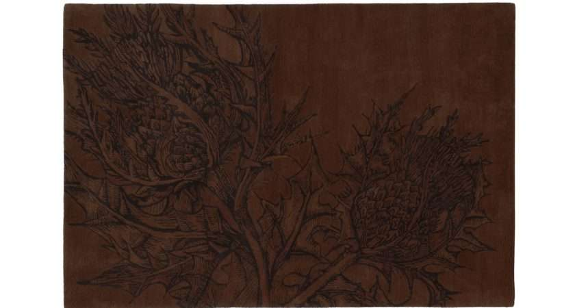 Editions Christopher Farr Thistle Rug Earth
