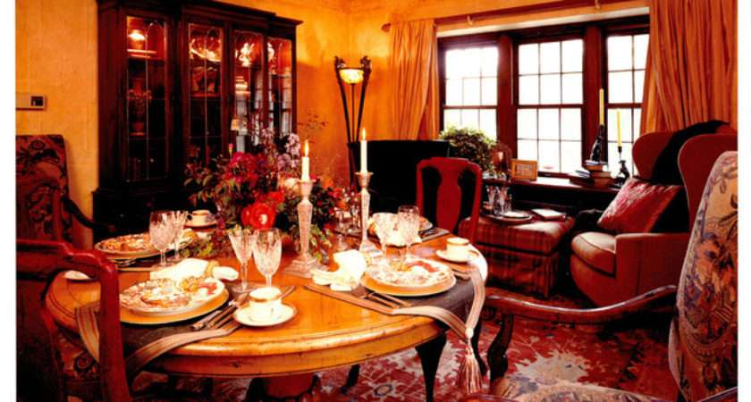 Edwardian Dining Room Traditional