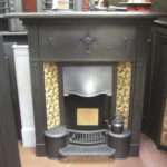 Edwardian Tiled Hobgrate Old Fireplaces