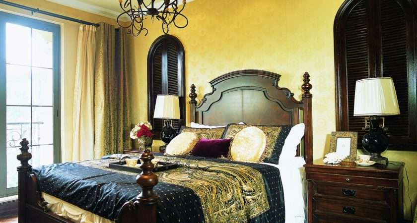 Effect English Style Bedroom Decorating