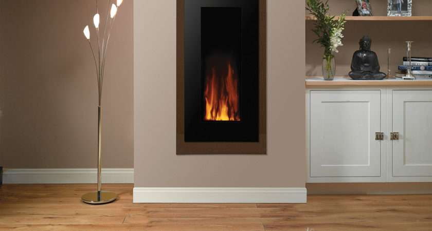 Electric Motiv Wall Mounted Fire Canterbury Fireplaces