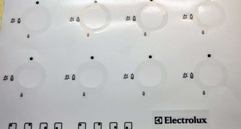 Electrolux Gas Hob Decal Set May Suit Others Essex