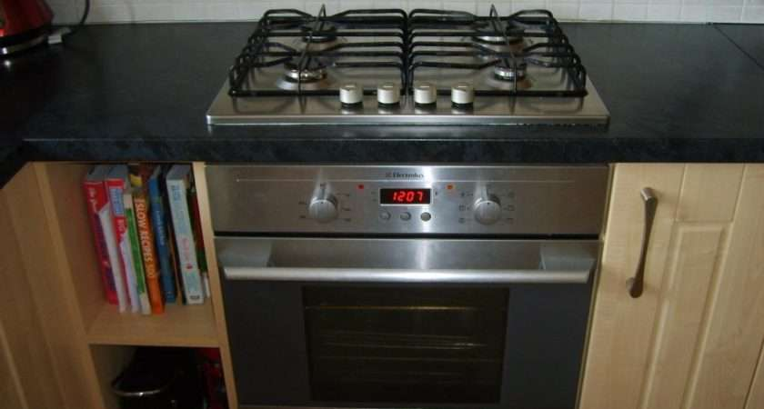 Electrolux Oven Gas Hob Built Under Counter Electric