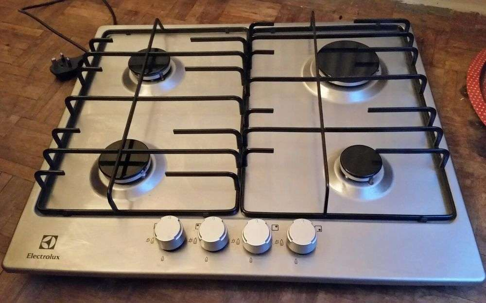 Electrolux Stainless Steel Gas Hob Egg Nox Spark Ignition Ebay