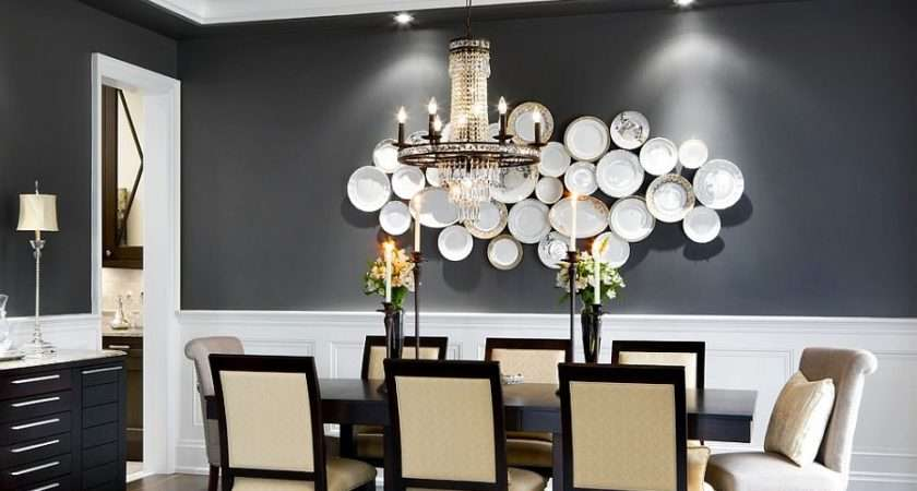 Elegant Exquisite Gray Dining Room Ideas