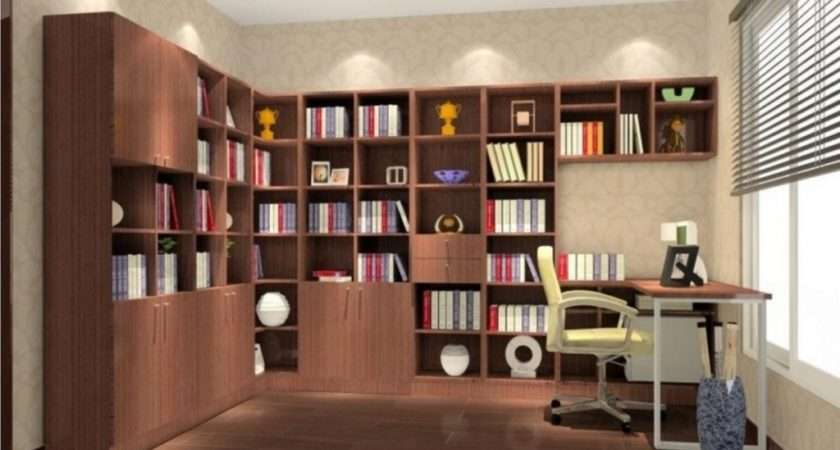 Elegant Modern Study Room Ideas Small Space Design